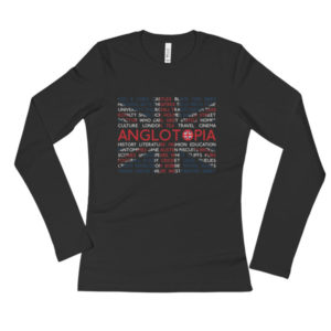 Anglotopia Ladies' Long Sleeve T-Shirt