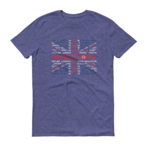 Anglotopia T-shirt – Anvil Softstyle – Short sleeve t-shirt