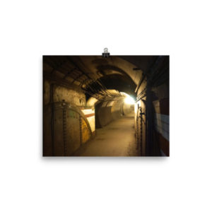 Down Street Abandoned Tube Station – Limited Edition Print