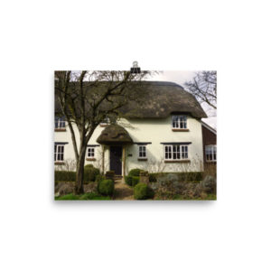 Thatched Cottage, Dorset – Limited Edition Print