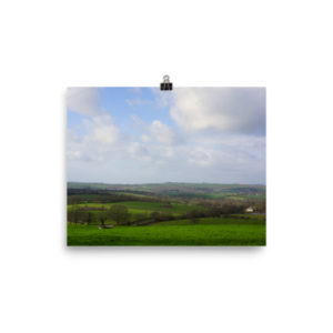 Rolling Hills of Wiltshire – Limited Edition Print