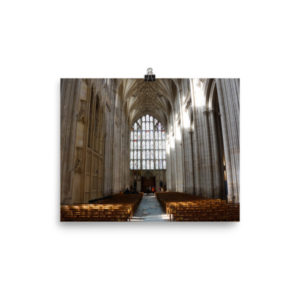 Winchester Cathedral Limited Edition Print
