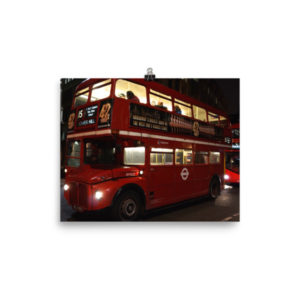 London's Routemaster Limited Edition Print