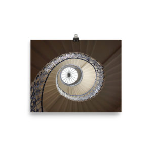 Spiral Staircase at Queen's House Limited Edition Print
