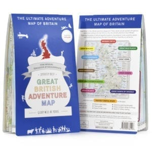 ST&G's Joyously Busy Great British Adventure Map folded-front-back-white-square