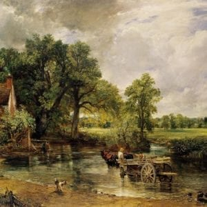 XCF257194  Credit: The Hay Wain, 1821 (oil on canvas) by Constable, John (1776-1837) National Gallery, London, UK/ The Bridgeman Art Library Nationality / copyright status: English / out of copyright