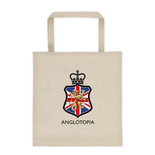 b41715a0ad Anglotopia Crest - Tote bag - Anglotopia Store