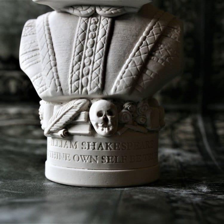 e7983c8b05e3 William Shakespeare Bust - Anglotopia Store