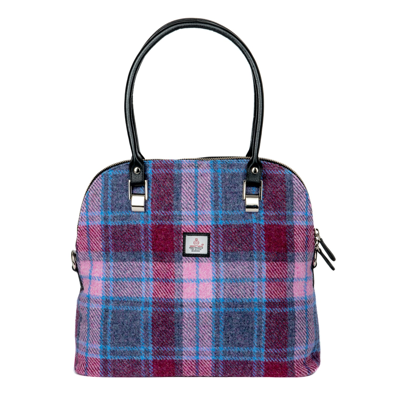 02a66552918a Maccessori  Harris Tweed Large Bowling Bag - Anglotopia Store