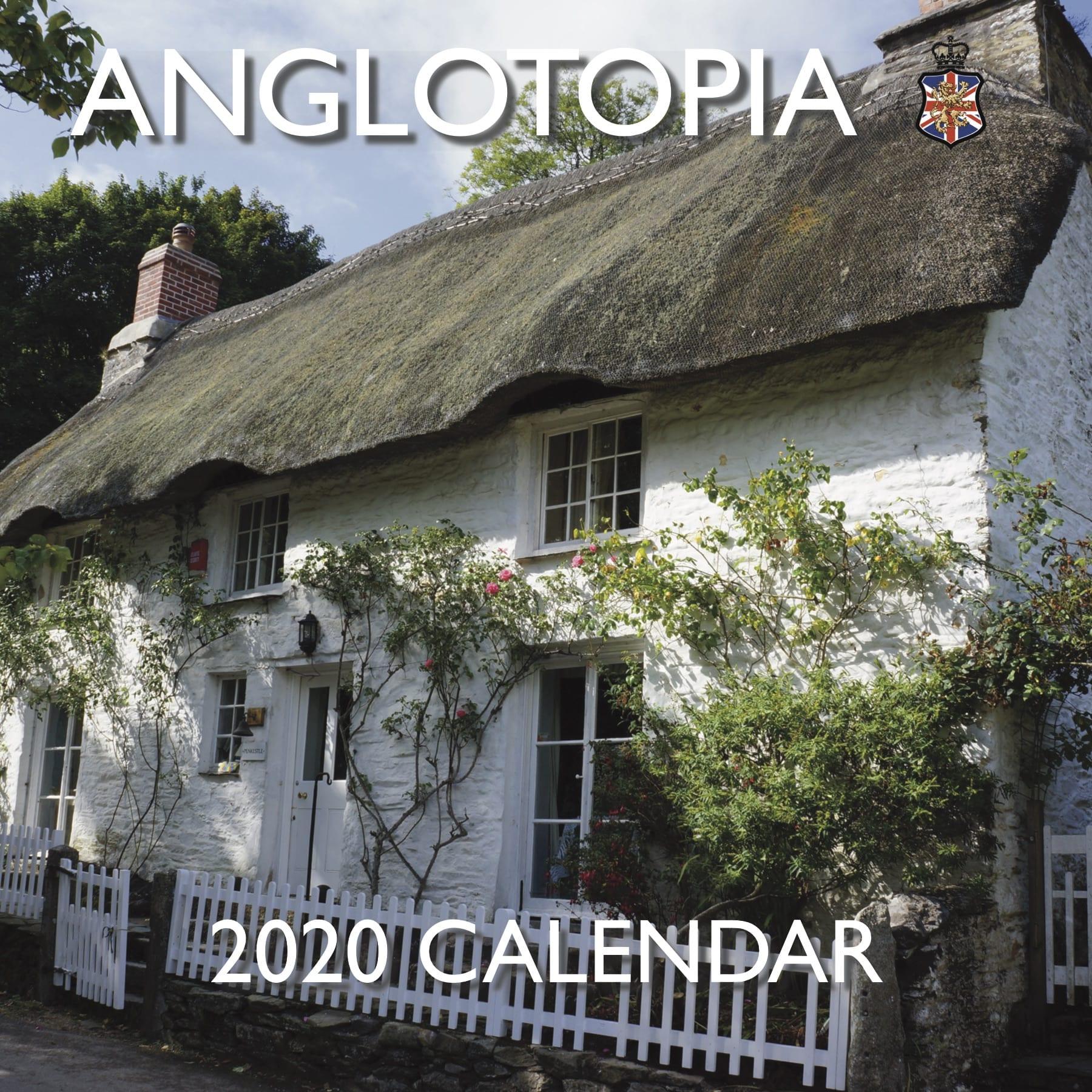 Calendrier Running 2020.Anglotopia 2020 Calendar
